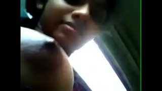 SEXY TEEN INDIAN TEEN BOOB SHOW IN BUS